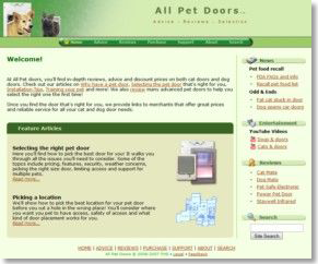 All Pet Doors Home